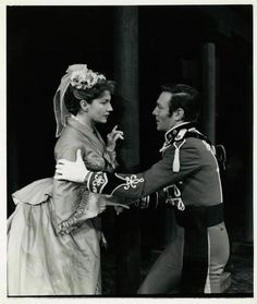 Much Ado About Nothing- 1958     Eileen Herlie as Beatrice and Christopher Plummer as Benedick