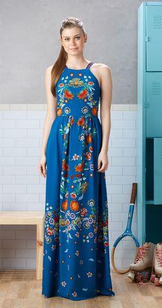 Só na Antix Store você encontra Vestido Longo Campo de Flores com exclusividade…