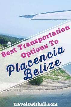 Best Transportation Options from Belize City to Placencia. How do you get to Placencia Belize from Belize City? Should you rent a car, book a shuttle, or fly? These tips will help you find the best transportation option. Family Vacation Destinations, Italy Vacation, Honeymoon Destinations, Ways To Travel, Travel Tips, Travel Ideas, Romantic Vacations, Beach Vacations, Belize City