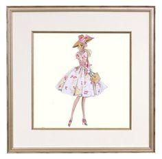 Fashion Barbie Print: Garden Party