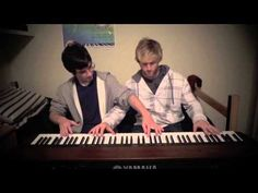 Sleigh Ride Variations (Piano Duet).. this must have taken them forever to learn. so good!!