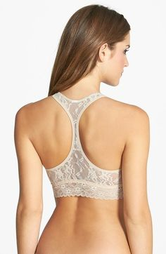 DKNY+'Signature+Lace'+T-Back+Bralette+available+at+#Nordstrom