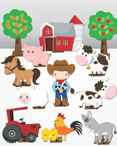 Fazendinha – 12 pças – Mini Totens em MDF 25cm Farm Birthday, Birthday Party Themes, Birthday Background Design, Diy Quiet Books, Activities For Kids, Infant Activities, Farm Party, Farm Theme, Le Far West