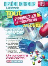Tout su Pharmacologie et Thérapeutiques de l'UE 2.11 en fiches mémos