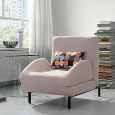 Conic Arm Chair Sleeper, $897