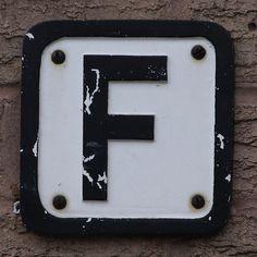 Graphic design Typographic Alphabet Letters F