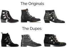 Real versus Steal: How to score designer ankle boots dupe: Givenchy studded boots, Toga Pulla western buckled boots, Chloe Suzanna, Chloe rylee military boots: best of 2019 ankle boots Chloe Studded Boots, Chloe Boots, Studded Ankle Boots, Buckle Ankle Boots, Over The Knee Boots, Bootie Boots, Boot Socks, Toga Pulla, Shoes