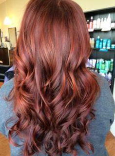 love red brown for fall season!