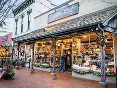 Why Dahlonega, Georgia is the Perfect Christmas Town - Southern Living Southern Christmas, Christmas Town, Christmas Travel, Holiday Travel, Xmas, Christmas Pickle, Christmas Villages, Christmas Ideas, Merry Christmas