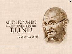 Eye for an eye...