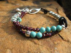 Paradise bracelet by fleurdesignz on Etsy, $28.00