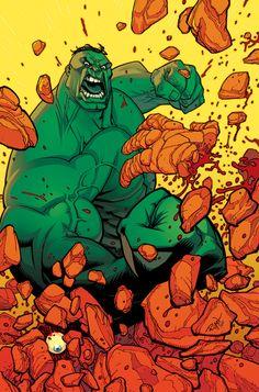 Hulk vs The Thing by Michael May