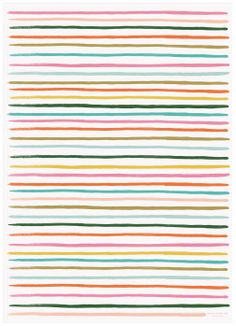 Rifle Paper Happy Stripe Wrapping