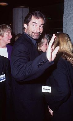 Timothy Dalton attending the premiere of The Crossing Guard  1995