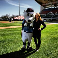 Our very own co-host on The Rhode Show, Michaela Johnson, went to McCoy Stadium to fill us in on all the festivities ahead of Thursday's game. Take Me Out, Game, Sports, Hs Sports, Excercise, Games, Sport, Toy, Exercise