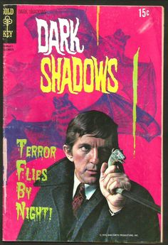 DARK SHADOW #7 Gold Key Comics 1970 1st series and printing GREAT photo COVER TV