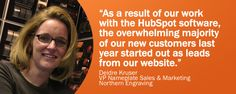 How Do You Turn a 100-year-old Company into a Modern Online Marketing Machine? Ask Northern Engraving! #HubSpotting