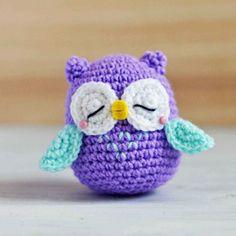 The 25 Coolest Crochet Owl Patterns Owl Crochet Patterns, Crochet Birds, Crochet Elephant, Owl Patterns, Crochet Bear, Thread Crochet, Amigurumi Patterns, Free Crochet, Crochet Animals