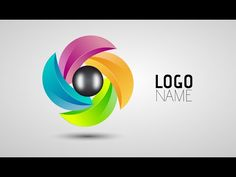 Adobe Illustrator Tutorials   How To Make Logo Design 01 - Photoshop,Corel Draw, After Effects,3ds Max