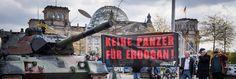 Panzer stoppt Party bei Rheinmetall !Am 9. Mai hält Rheinmetall seine Hauptversammlung in Berlin ab – direkt vor dem Bundesverteidigungsministerium. Wir nutzen die Gelegenheit! Vor Ort lassen wir einen ausgemusterten Panzer vorfahren und zeigen: Dieser Panzer-Deal tötet Menschen.