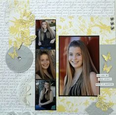 Free Spirit Layout by DT Member @Yvonne Blair using Teresa Collins Everyday Moments