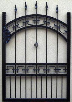 Brama wjazdowa dwuskrzydłowa kuta pręt producent