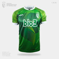 Camiseta oficial S. D. PONFERRADINA, pretemporada 2015/16, Liga Adelante. Sportswear, Design, T Shirts