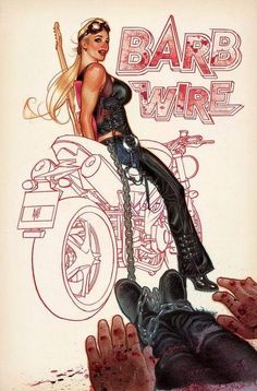 Barb Wire cover 4 by Adam Hughes Archie Comics, Bd Comics, Comics Girls, Marvel Comics, Image Comics, Adam Hughes, Best Comic Books, Comic Books Art, Pin Up