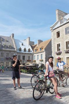 """""""People had told me that Québec would remind me of an old European city. Aside from medieval Bruges in Belgium, I don't know of another place as beautiful as Québec City."""" in Old world fun: Cycling through Québec City's historic streets by Neville Judd on nsnews.com"""