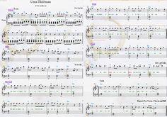 Fall Out Boy — Uma Thurman Piano Sheets. American Beauty / American Psycho. 2015