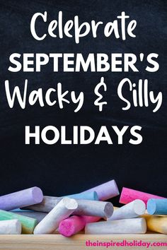 September's wacky holildays are here. Wait until you see all the silly holidays you can celebrate in September. Life is too short not to find simple ways to celebrate every day and these wacky holidays are a great way to do just that. You can celebrate comic book day, salami day, play-doh day and ohhhhh so many more. Check out this month's silliest holidays now. Chocolate Day, Chocolate Delight, September Holidays, Silly Holidays, Philosophical Thoughts, Pizza Day, Cherries Jubilee, Rhyming Words, Rhyme And Reason