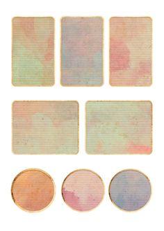 Nuskina: Etiquetas imprimibles gratis para manualidades, decoración, scrapbooking, collage...