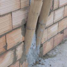 Construcción de estructura de vivienda en Bambú Guadua