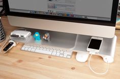 The Space Bar desktop organizer: the only thing missing is the drink - Cool Mom Tech