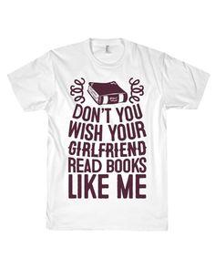 Read Books Like Me Tee