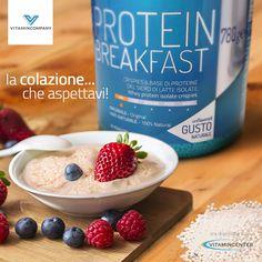 Protein Breakfast, la colazione golosa firmata Vitamincompany è arrivata! Crispies croccanti a base di proteine del siero di latte isolate! Disponibile su www.vitamincenter.it! E voi cosa mangiate a colazione?