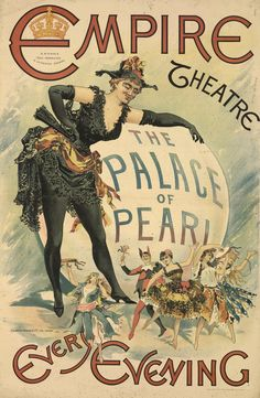 theatre posters victorian wall - Αναζήτηση Google