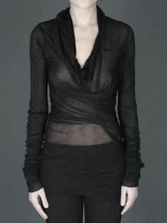 Ann Demeulemeester - A designer I'll never be able to afford :(