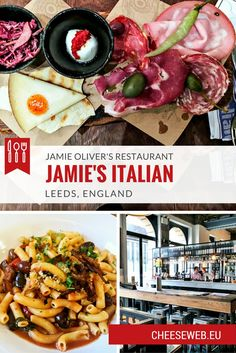 Monika reviews Jamie Oliver's restaurant, Jamie's Italian, in Leeds, England, after a lunch with her three-year-old son and dinner with her husband.