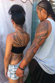 Polynesian tattoos  Can't wait till I decided on what I want my tribal to represent. Would be #TattooNumberFour