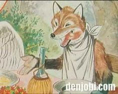 De Vos en de Ooievaar - fabel van La Fontaine - YouTube