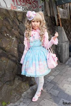 When we asked her where she bought the items for this outfit, she told us that she does much of her lolita fashion shopping at LaForet Harajuku. Description from fashionandstylez.com. I searched for this on bing.com/images