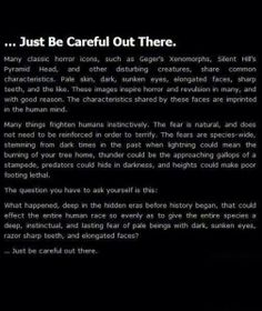 Listen to your gut and be careful out there...