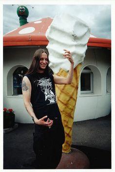 Fenriz aka Gylve Nagell of Darkthrone (NOR)