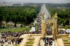 Persepolis Ruins - Takhte Jamshid Persepolis Tourism