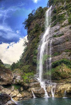 stunning Bomod-Ok Falls in Sagada, Mountain Province, Philippines