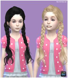Simista: MAY 03G hairstyle retextured  - Sims 4 Hairs - http://sims4hairs.com/simista-may-03g-hairstyle-retextured/