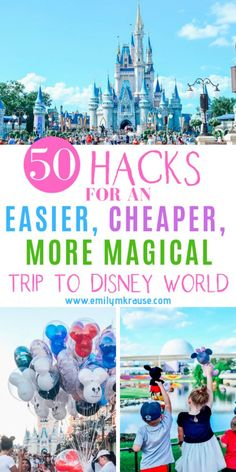 So youre going on a DIsney Vacation and you want to experience an easier, cheaper, more magical Disney World. Never fear! Ive got first time Disney World hacks and ways to cut down on Disney World stress so you can enjoy the most Magical Place on Earth! Disney Home, Disney On A Budget, Disney World Vacation Planning, Walt Disney World Vacations, Disney Planning, Disney Vacation Surprise, Cheap Disney Vacation, Vacation Ideas, Disney Honeymoon