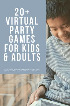 Virtual Parties are a fun way to enjoy the company of friends while social distancing.Here's a list of fun virtual party games for kids and adults. Virtual Games For Kids, Virtual Families, Games For Teens, Fun Party Games, Adult Party Games, Adult Games, Party Ideas, Intimate Games, Meeting Games