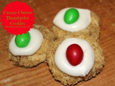 Michelle's Tasty Creations: Cream Cheese Thumbprint Cookies